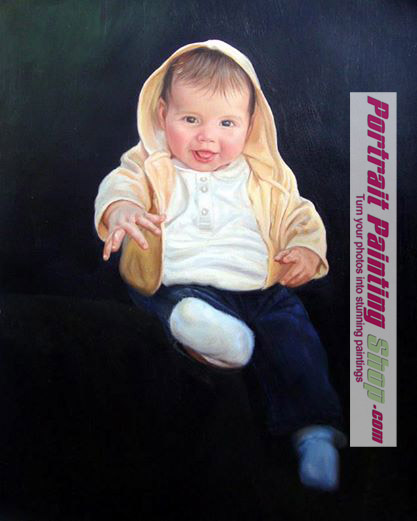 Oil Painting from Photo- Custom portrait painting from photo